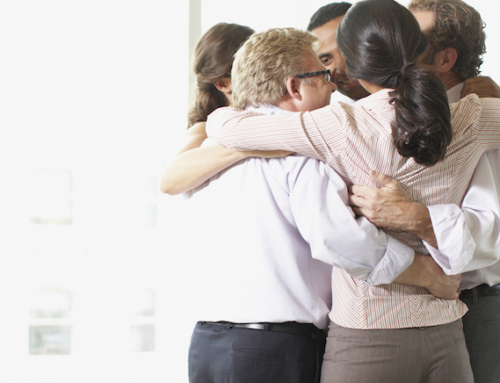 Stop hugging at work or you'll be hugging the HR manager